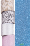 "Glitter Tape Dark Blue 4"" wide x 5 yds"