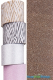 "Glitter Tape Dark Brown 4"" wide x 5 yds"