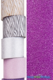 "Glitter Tape Fuchsia 4"" wide x 5 yds"