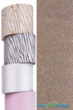 "Glitter Tape Light Brown/Coffee 4"" wide x 5 yds"