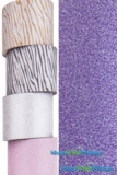 "Glitter Tape Purple 4"" wide x 5 yds"