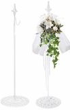 Hanger for Wreaths & Floral D?cor -  White - Adjustable to 62""