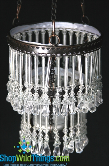 """Hanging 13"""" , 2-Tier Candle Holder  """"Lil Lottie"""""""