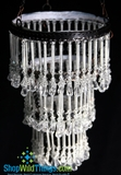 """Hanging 15"""" , 3-Tier Candle Holder  Lottie"""