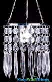 "Hanging Candle Holder ""Deedee"" - With Glass Votive"