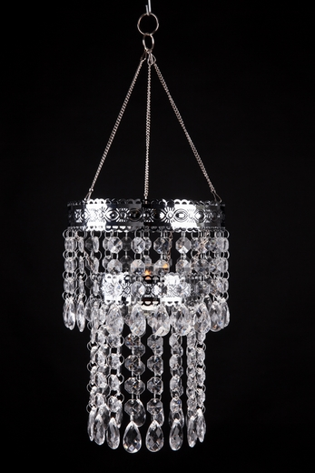 """Hanging Candle Holder """"Lexie"""" - 2 Tiers 8"""" x 5"""""""