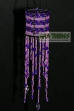 "Hanging Candle Holder  ""The Empress"" Purple"