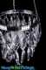 """Hanging Crystal Candle Holders - Lynnie - 2 Tiers, 5"""""""