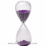 "Hourglass 12"" - Orchid Sand"