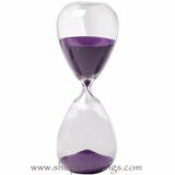 "Hourglass 8"" - Orchid Sand"