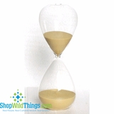 "Hourglass 8""  - Raffia Yellow Sand"