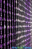 Ice Pop Beaded Curtain - Purple-Violet Iridescent - 3 ft x 6 ft
