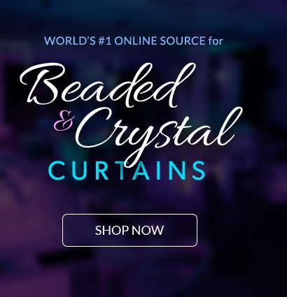 Shop the World's #1 Online Source for Beaded & Crystal Curtains