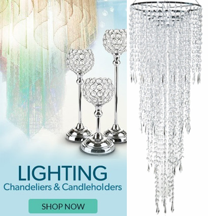 Chandeliers & Candle Holders in Every Shape & Size!