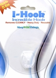 "Incredible Hook Clear 4"" - Holds 5 lbs"