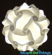 "Jigsaw Light Kit -Large 14"" (35cm) - White"