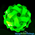 "Jigsaw Light Kit - Medium 11"" (28cm)- Lime Green"