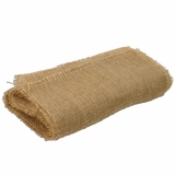 "Jute Table Runner 12.5"" x 76"" - Short Fringe Edge"