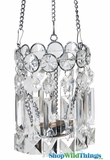 """Kimbria"" Fancy High Grade Acrylic Hanging Candle Holder"