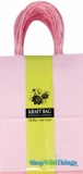 Kraft Bag, Small Light Pink, 12 Ct
