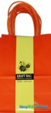 Kraft Bag, Small Orange, 12 Ct