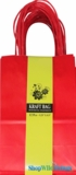 Kraft Bag, Small Red, 12 Ct