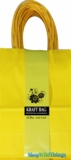 Kraft Bag, Small Yellow, 12 Ct