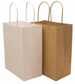 Kraft Bags - 5 Colors Available