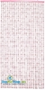 Lafayette Beaded Curtain - Pink Non-Iridescent - 3 ft x 6 ft