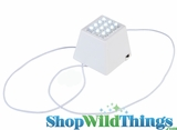 Lantern Lighting - White 12 LED Cube Light