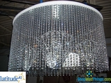 Latitude 41 Creative - Custom Light Fixture Using Beads