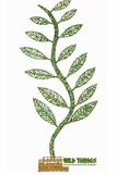 "CLEARANCE Leaf Tree Tabletop Decor - Metal - 36"" Tall"
