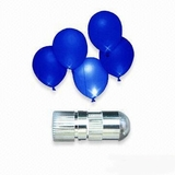 LED Balloon Light, Blue - Steady Light 12pcs