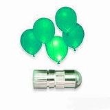 LED Balloon Light,  Green - Steady Light 12pcs