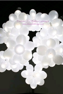 LED Balloon Light White -Steady Light 12 pcs