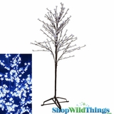 LED Blossom Tree 6.5 ft - 240 Lights - Cool White