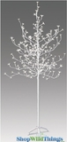 LED Blossoms Tree - 6.5 Feet Tall-  Indoor/Outdoor - 240 Blossom Flower Lights - Cool White