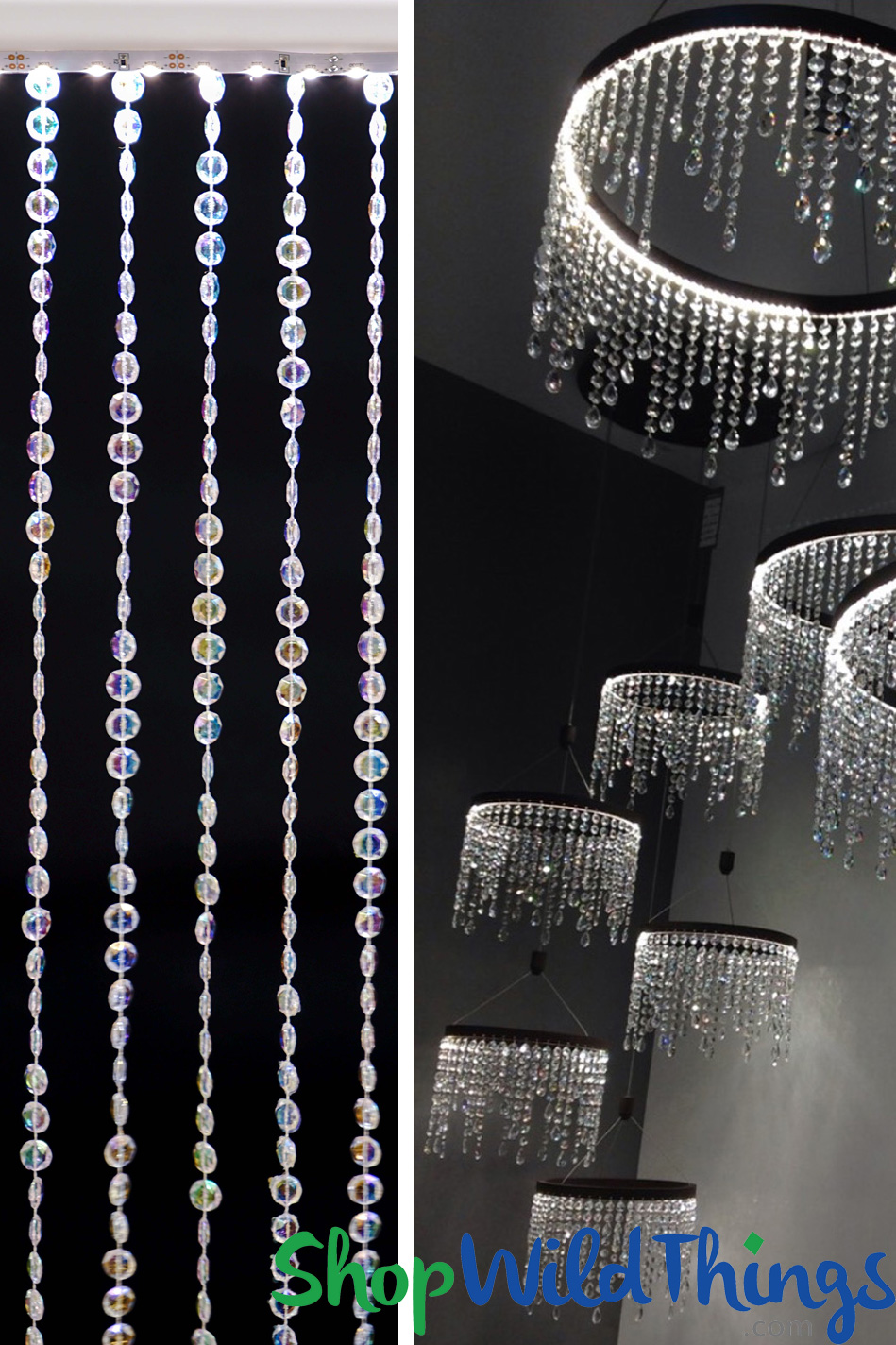 LED Flexible Strip Lighting - Battery Operated & Plug-In Styles