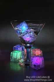 LED Ice Cubes & Diamonds