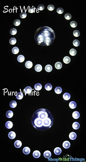 LED Light Discs - Chandelier & Under Vase Lighting
