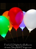 LED Lights for Balloons (Several Colors, Options)