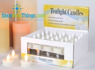 LED Tea Light - 6 Pack, Flickering Candles(96 Hours!)