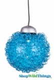 LED Wire Ball -  Blue Light-  3""