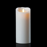 Luminara Wax Candle - Ivory 4 x 9 - With Timer - Remote Ready - Amazing Flame!