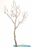 "Manzanita Branch 40"" Antique Platinum - 3D Paint Detail - Bendable!"
