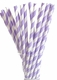 Paper Straws - Several Patterns & Colors