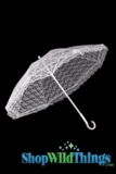 "Parasol - 27"" Lace Wedding, Event & Display Decorative Umbrella"