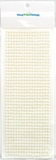 Pearl Sticker Ivory 5mm - 42 Sticker Strips - 714 Adhesive Pearls