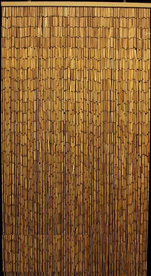 Plain Bamboo Beaded Curtain 90 Strands 35 Quot X 75 78