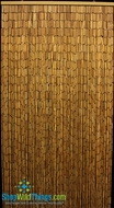 "Plain Bamboo Beaded Curtain 90 Strands 35""  x 72-78"""